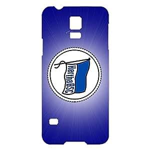 3D Unique Creative Hertha Berliner Sport Club Berlin Phone Case for Samsung Galaxy S5 Mini Lightweight Cover Case Hertha BSC Berlin Logo