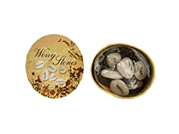 Bulk Buys Boxed Wishing Stones (Set of 60)