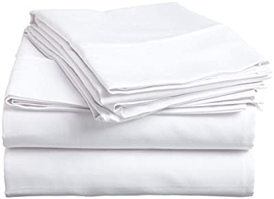 6 Piece Hotel Luxury Soft 800 TC Premium Bed Sheets Set, 21 Inch Deep Pockets, Hypoallergenic, Wrinkle & Fade Resistant Bedding Set