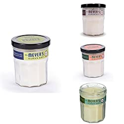 Mrs. Meyer's Soy Candle 4ct Fragrance Variety