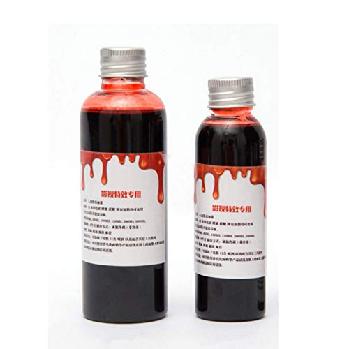 Best Quality - Party DIY Decorations - Hot Halloween cos ultra-realistic fake blood/simulation of human vampire human hematopoietic/props vomiting edible pulp - by ABYSTEPS - 1 -