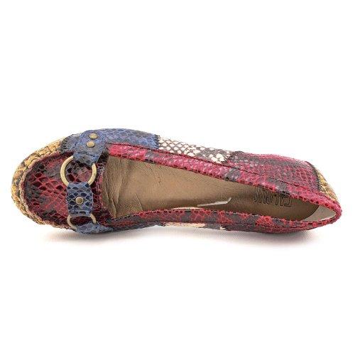 Falchi Par Falchi Agnes Femmes Taille 6 Rouge Moc Textile Chaussures Chaussures
