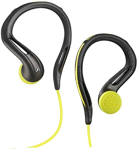 Sennheiser Adidas OMX 680i Sports Earphones with Microphone - Gray/Yellow (Certified Refurbished)