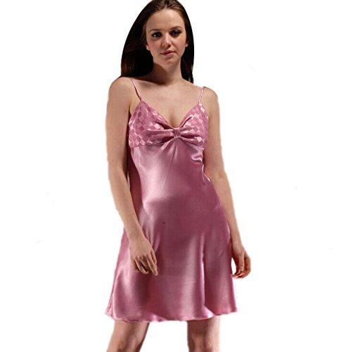 Taille Pour Femme Nuit 6 Robes Couleurs Unique Confortable De Nuisette Chemise Acvip Violet wqgY8C