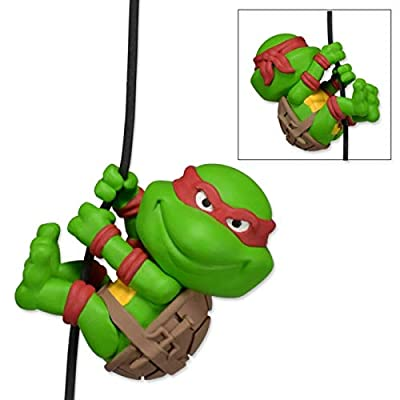 "NECA Scalers - 2"" Characters - TMNT ""Raphael"" Toy Figure: Toys & Games"