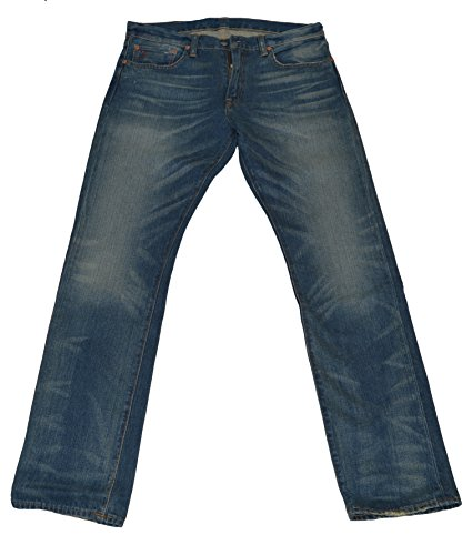 Polo Ralph Lauren Stratford Slim Straight Men's Denim Jeans (Medium Wash, 34/30)
