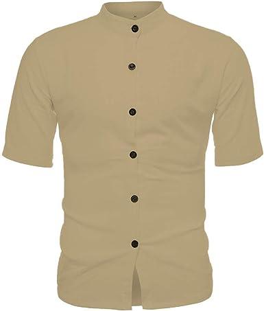 Camiseta para Hombre, Verano Impresión Manga Corta Camisetas ...