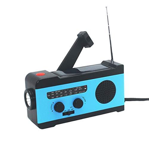 VOSAREA Portable Radio FM Receiver Emergency Radio with Alarm Clock FM Radio FM Receiver by VOSAREA (Image #9)