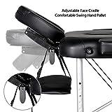 Yaheetech Massage Table Portable Massage Bed 3