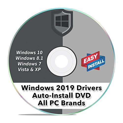 Windows Driver Software 2019 Automatic Easy Install Updater DVD Disc for Windows 10, 8, 7, Vista, & XP | Full Computers Support Dell HP Toshiba Sony Asus Lenovo Gateway Acer etc. ()