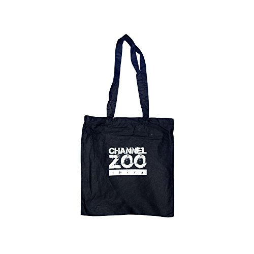 Zoo Project Channel Zoo Large Tote Bag - Black, One Size
