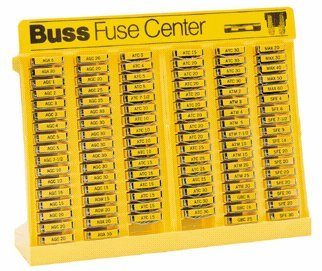Bussmann No.500 Glass Tube and Blade Type Fuse Assortment Display - 480 Fuses