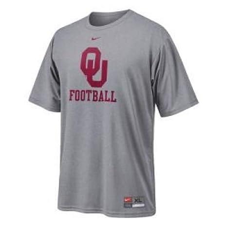 ee8a4b73 Amazon.com : Nike Oklahoma Sooners S/s Performance Graphic Tee Ii ...
