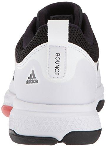 Scarpa Da Tennis Classica Adidas Uomo Barricata Rimbalzo Bianco / Notte Metallizzato / Scarlatto Traccia