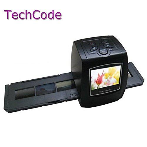 TechCode5MP 35mm Negative Film Slide VIEWER Scanner USB Digital Color Photo Copier(With (35 Mm Slide Copier)