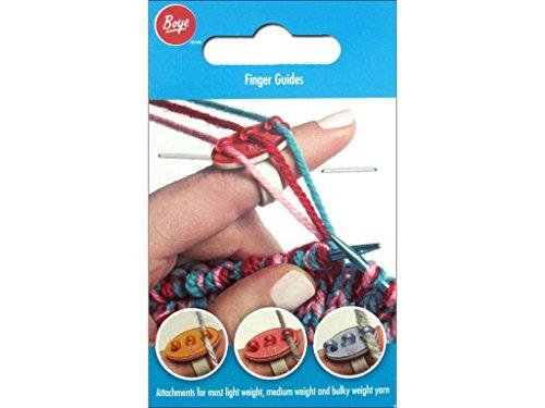 Boye Finger Guides - Yarn Guide Clover