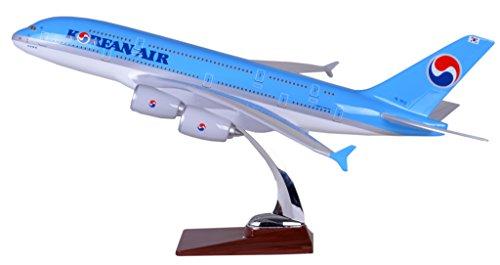 tang-dynastytm-47cm-air-bus-a380-korean-airlines-abs-resin-model-plane-model-plane-toy