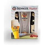Erdinger Weissbier Pack 2 botellas 500ml + Vaso