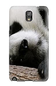 Best Tpu Case Skin Protector For Galaxy Note 3 Sleeping Panda With Nice Appearance