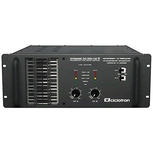 Amplificador de Potência 5000W RMS 2 Ohms - Dynamic 20000 Ciclotron