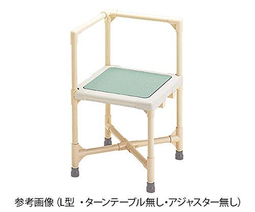 矢崎化工7-3961-06シャワーいす背もたれ型(ターンテーブルありアジャスターあり)   B07BD32B6R