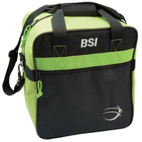 BSI Solar II Single Ball Bowling Bag- Lime/Black ()