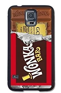 Willy Wonka Golden Ticket Chocolate Bar Hard Case for Galaxy S5 - Black
