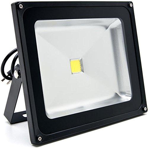 KapscoMoto Biltek 50W LED Flood Light Cool White High Pow...