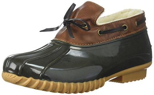 Sporto Women's Katie Boot, Taupe/Olive, 7 M US (Rain Sporto Boots)