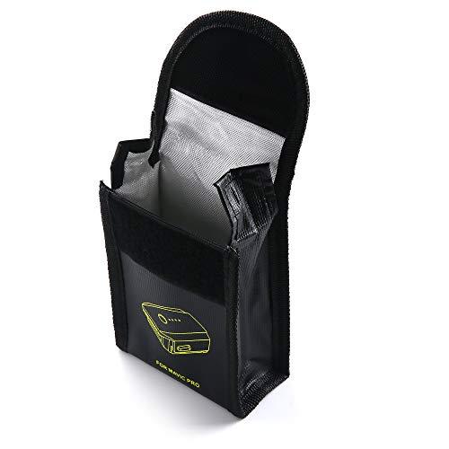Riqiorod Mavic pro Battery Safe Bag Explosionproof Resistant Battery Charging Storage Fireproof Battery Portable Bag DJI Mavic Pro/DJI Mavic 2 Zoom/Pro (1)