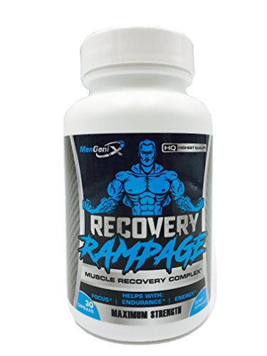 Mengenix- Recovery Rampage- Muscle Recovery Complex- Post Workout Supplement- Focus – Endurance- Energy- Sleep better- Recover Faster