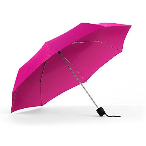 ShedRain Umbrellas Rain Essentials Manual Compact, Hot Pink (Hot Pink Umbrellas)