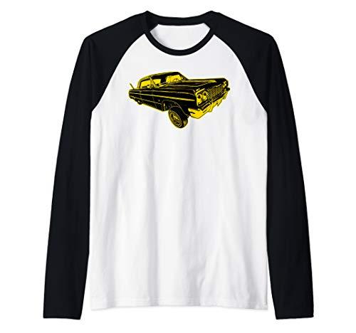 - Lowrider Shirts Raglan Baseball Tee