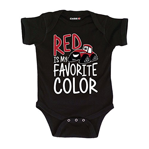 CASE IH Red is My Favorite Color-Infant One Piece