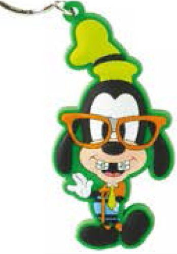 Amazon.com: Disney Nerds Goofy Soft Touch Llavero: Toys & Games