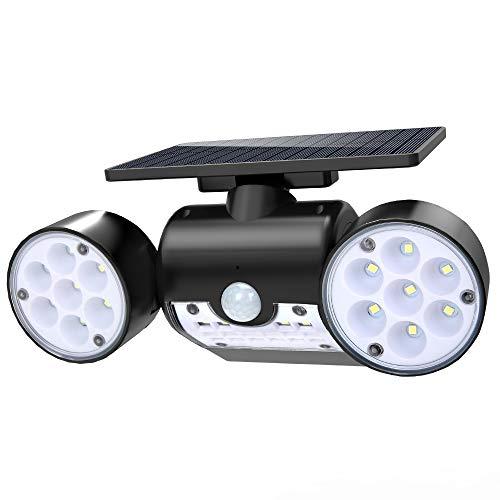 Solar Outdoor Lights No Batteries: Hallomall Outdoor Solar Wall Lights, Motion Sensor