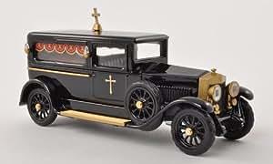 Fiat 519 coche fúnebre, negro/dorado , 1924, Modelo de Auto, modello completo, Rio 1:43