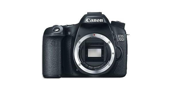 Canon EOS 70d DSLR Cámara Réflex Digital solo cuerpo: Amazon.es ...