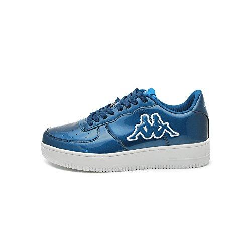 Kappa Scarpe Unisex Caserta Footwear 3025WK0 (40 - C27 Blue Ottanio Shiny)