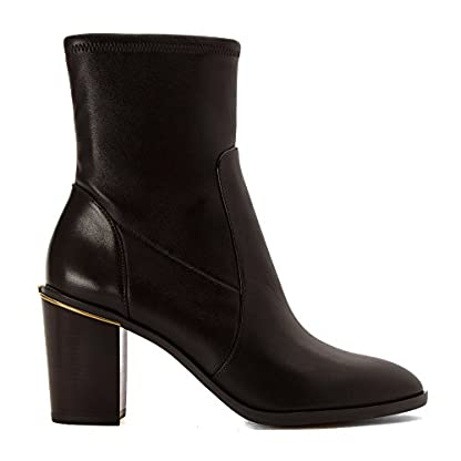 Michael Kors Michael Womens Chase Ankle Boot, Dark Brown, Size 9.0 US/7 UK US 2