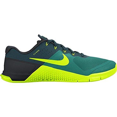 Nike - Metcon 2 - 819899373 - Color: Black-Celadon-Turquoise - Size: 11.5