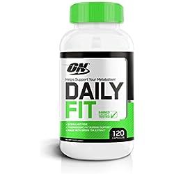 Optimum Nutrition Daily Fit Stimulant-Free Fat Burner, 120 Count