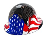 Spirit of America Hard Hat - Full Brim - FMX Fibre Metal by Fibre-Metal Hard Hat