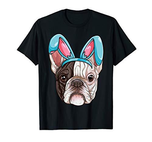 Easter Bunny French Bulldog T shirt Dog Boys Girl Kids Women -