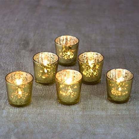 Fluted Tealight Votive Candle Holder Wall Art Sconce Glass Cup Home Decor