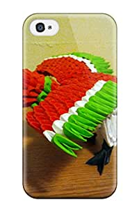 Awesome URjsPYV2824IFYwN Leslie White Defender Tpu Hard Case Cover For Iphone 4/4s- D Origami