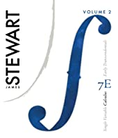 Single Variable Calculus: Vol. 2, Early Transcendentals, 7th Edition Front Cover
