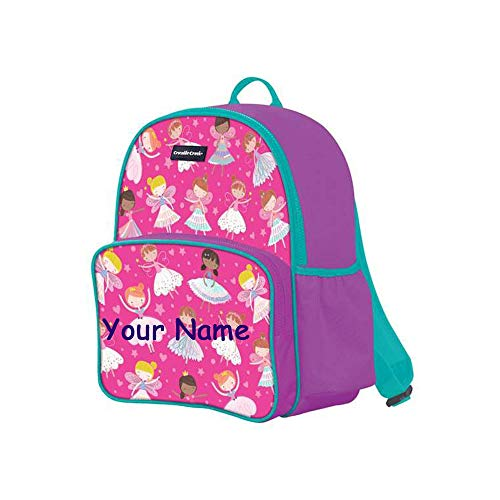 - Crocodile Creek Personalized Dancers and Dreamers with Ballerinas and Fairies Back to School Backpack Book Bag with Custom Name