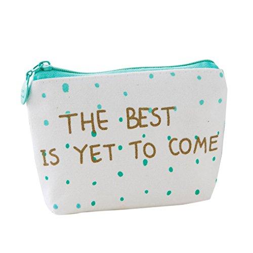 Girls Cute Small Cartoon Fashion Print Coin Purse Wallet Bag Change Pouch Key Holder - Boutiques Key West
