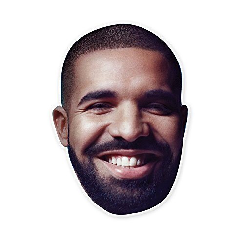 Happy Bearded Drake Mask - Perfect for Halloween, Masquerade, Parties, Events, Concerts - Jumbo Size Waterproof by Unwelcome Greetings (Image #1)